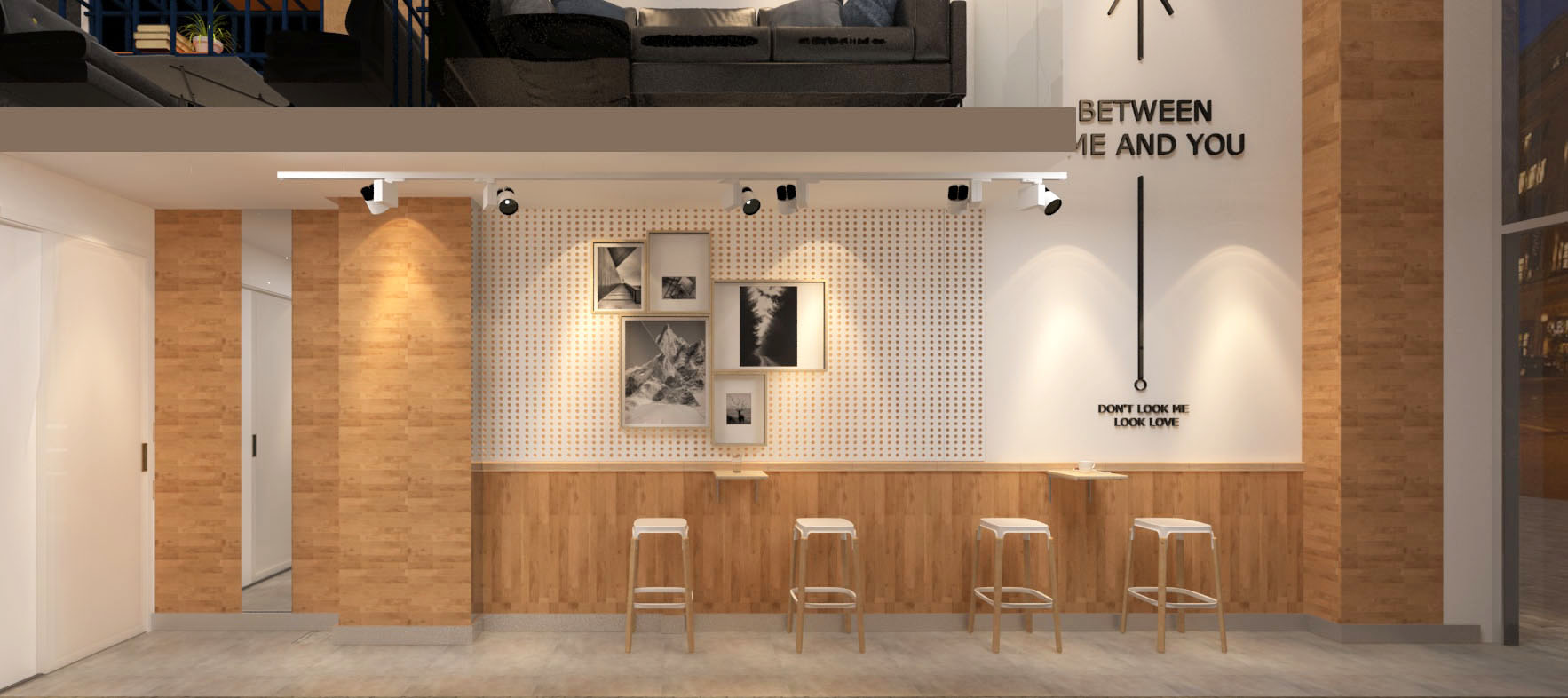 solar咖啡店设计效果图2